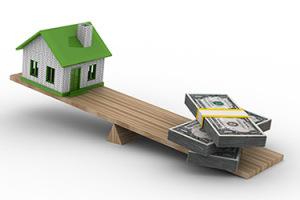 Je verdient geld met vastgoed door inkomen te halen uit 'hefboom'.