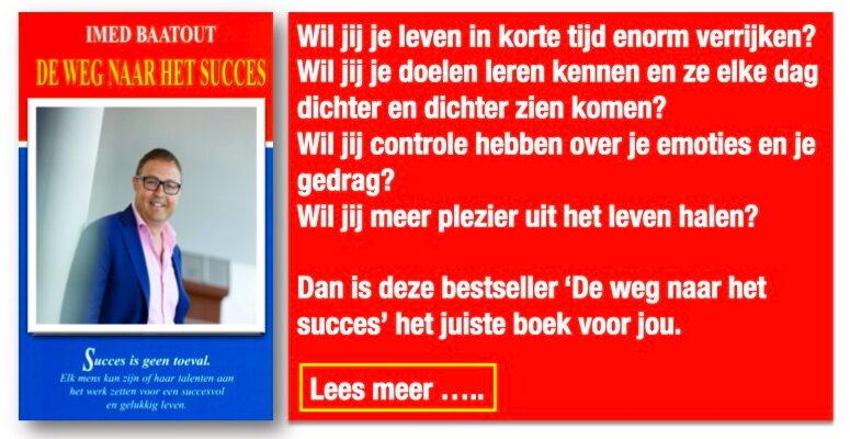 imed baatout boek de weg naar succes
