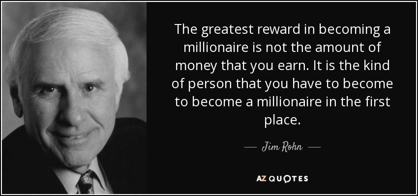 beginnen met investeren in vastgoed - Jim Rohn
