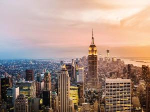 Rijk worden - New York