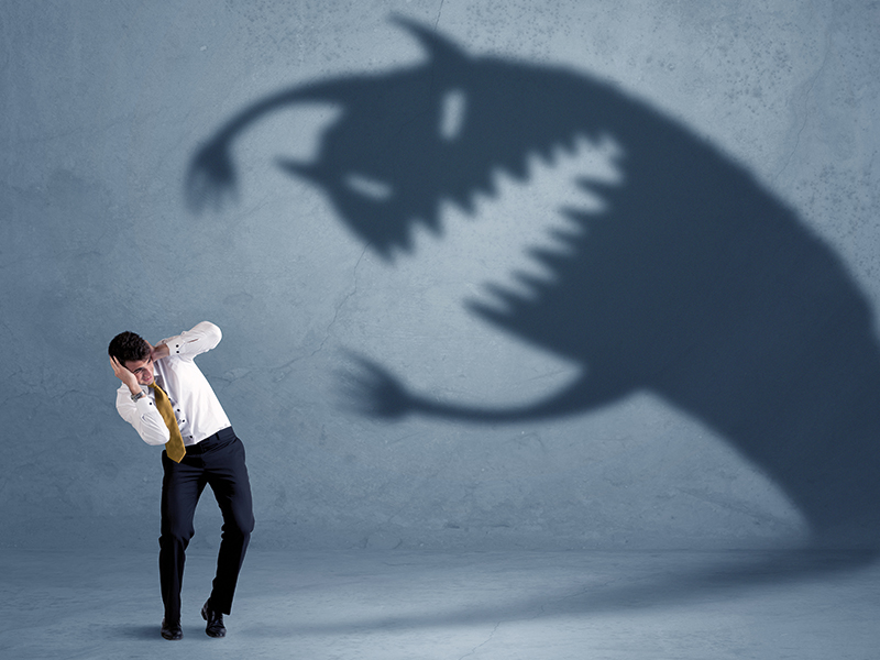 Rijk worden - bang zijn Destructieve overtuigingen over geld.