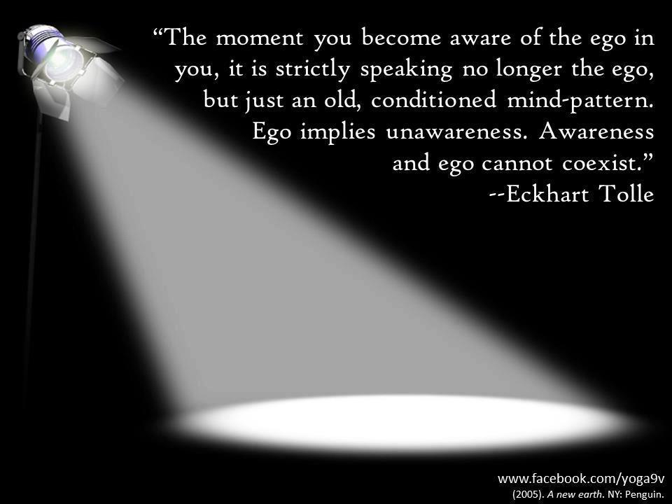 het ego doorzien eckhart tolle quotes