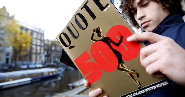 De meeste Quote500 rijkste Nederlanders ende 500 rijkste Belgenzijn ondernemers en investeerders.