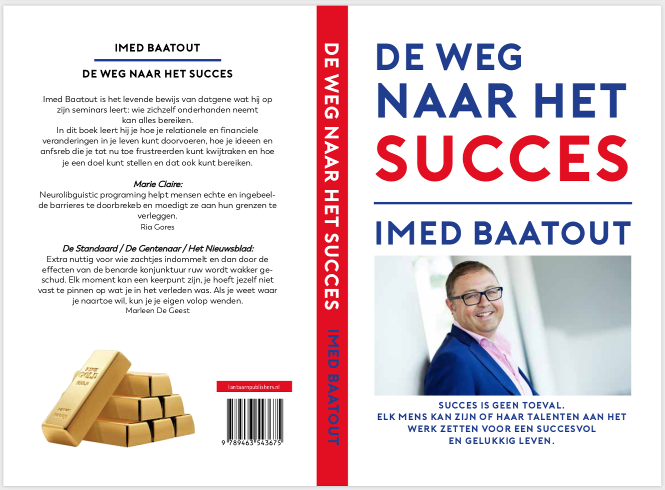 De weg naar succes Boek Imed Baatout.
