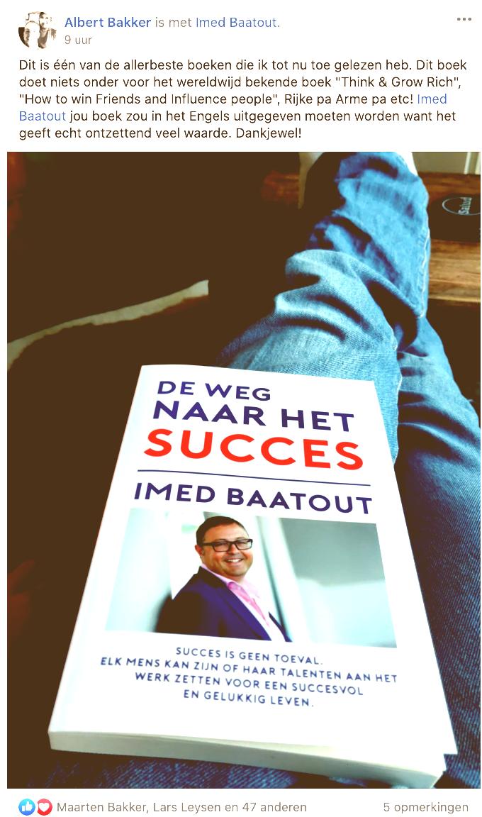 bestseller 'De weg naar het succes' het juiste boek voor jou.