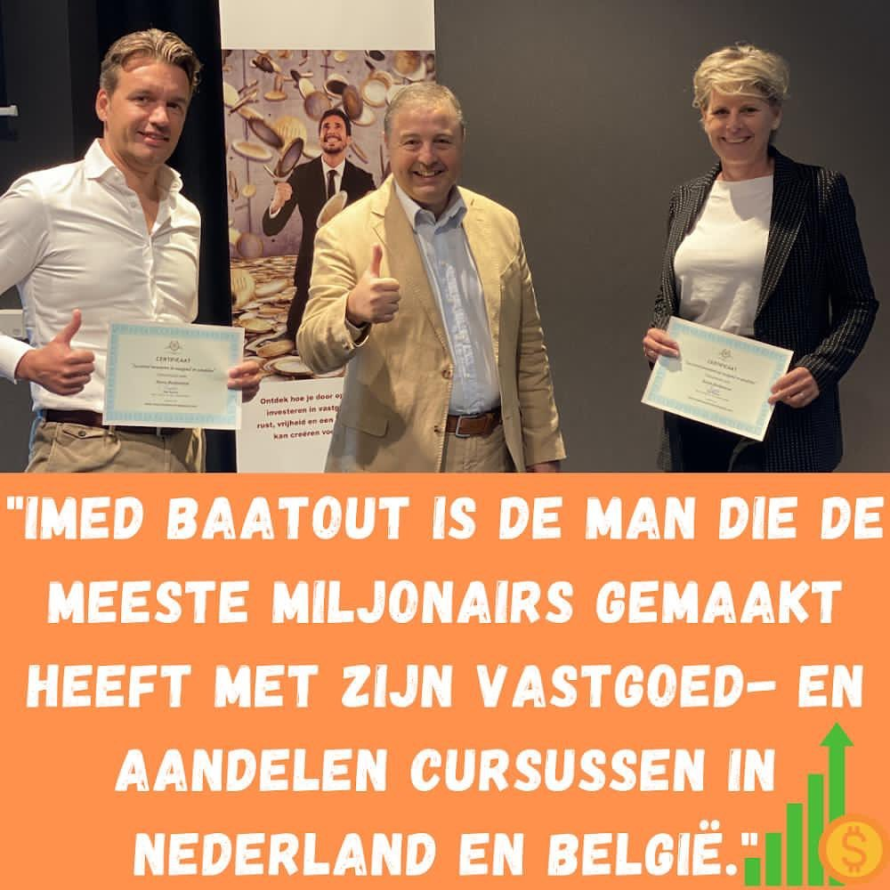 #1 Vastgoed en aandelen cursus van Nederland en België.