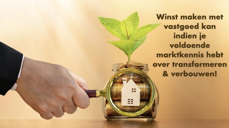creatief verbouwen en transformatie panden vastgoed cursus Imed Baatout
